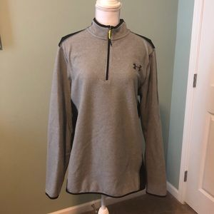 Women's UNDER ARMOUR 3/4 zip up sweatshirt size M